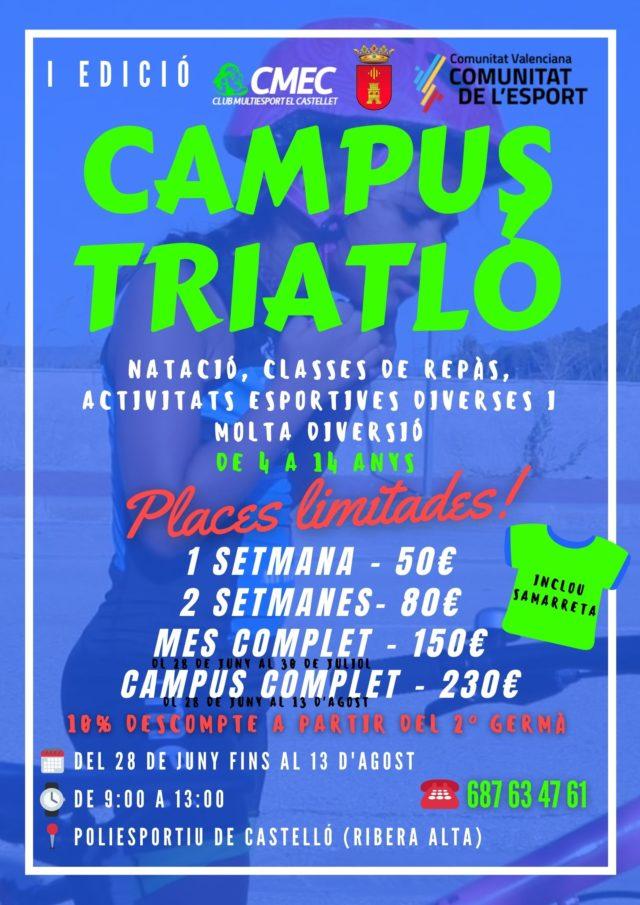 Naix el Campus de Triatló CMEC